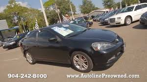 Autoline's 2005 Acura RSX Walk Around Review Test Drive - YouTube