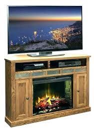 oak electric fireplace freestanding industrial media console electric fireplace stand in embossed oak