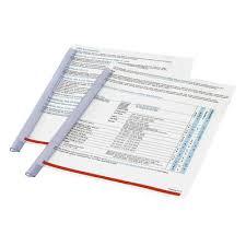 Скрепкошина для брошюровки <b>Durable</b> А4 прозрачная (до 30 ...