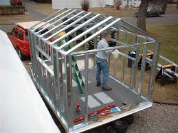 metal framing shed. Anyone Use Metal Studs Framing Ice Shack? Shed E