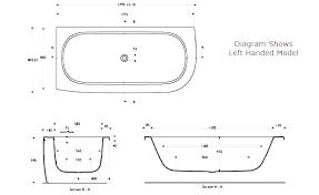 shower door height standard tub corner dimensions bathtubs bathtub dime glass code sizes hei