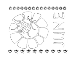 june calendar month coloring page