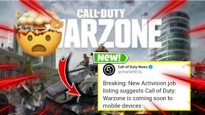 BREAKING NEWS CALL OF DUTY Warzone ...