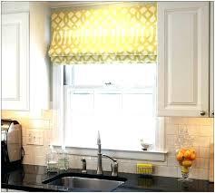 curtains for kitchen window above sink window treatment ideas for above kitchen sink curtains for kitchen
