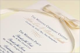 Wedding Program Scroll Wedding Ceremony Programs Stationery To Design Print