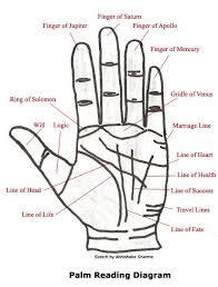 A Palm Reading Chart Youll Want To Refer To Over And Over