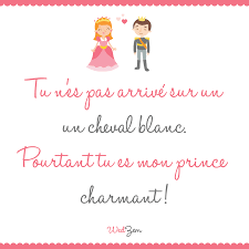 Mon Prince Charmant Amour Citation Quelques Mots Damour