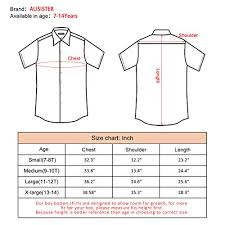Planet Clothing Size Chart 7t Shirts For Boys Kids Galaxy Button Down Dress Shirt Short Sleeve 90s Planet Playwear Sun Beachwear Fit Slim Summer Tops Round Collar Space 7 8