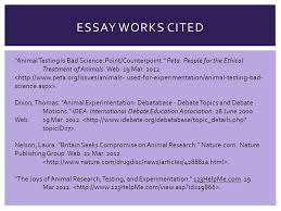tommie clark animal experimentation iuml iexcl there are extremely essay works cited animal testing is bad science point counterpoint peta people