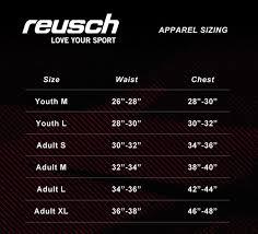 Sells Goalkeeper Gloves Size Chart Reusch Alex Goalkeeper Pant Keeperstop