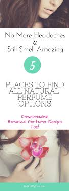 all natural perfume alternative