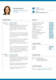 Project Manager Resume Marketing Project Manager Resume Resume For Study 77