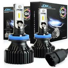 jdm astar newest version g4 8000 lumens extremely bright aec chips h11 h8 h9 all in one led headlight bulbs conversion kit xenon white