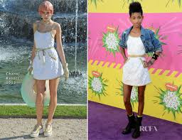 chanel kids. willow smith in chanel kids