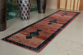 image of contemporary runner rugs design