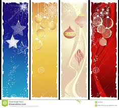 Vertical Christmas Banners Stock Vector Illustration Of Holiday