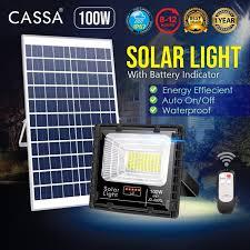 cassa hi quality led solar 100w