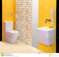 Yellow Bathroom Yellow Bathroom Royalty Free Stock Images Image 24880819