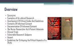 ethics and nursing research ethics and nursing research prof mrsrafathrazia<br > 2
