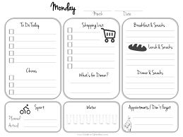 Daily Planner Template