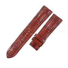 crocodile leather watch strap band 18mm 19mm 20mm 21mm 22mm 24mm brown s l1200 64 jpg