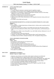 Angularjs Resume Angularjs Resume Samples Velvet Jobs 1