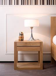 choosing a solid wood bedside table