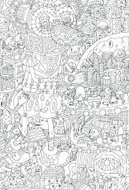 Detailed Color Pages Detailed Coloring Pages Intricate Free