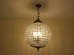 lighting for halls. Crystal Ball Chandelier Lighting For Halls