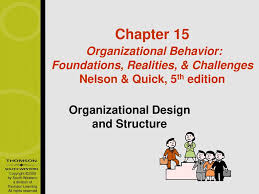 Basic Challenges Of Organizational Design Organizational Design And Structure Ppt Download