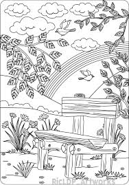 Nature Coloring Pages For Adults Unique Stock Quick Free Printable