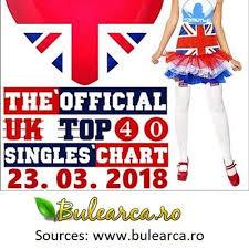 The Uk Top 40 Singles Chart Va The Official Uk Top 40 Singles Chart 23 03 2018 Online