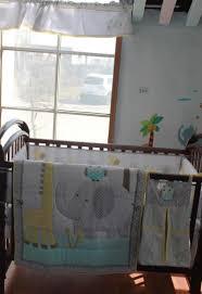 impressive giraffe baby bedding 21 100 cotton embroidery owl elephant set quilt per skirt mattress cover