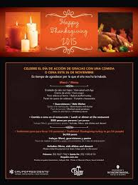 Mexican thanksgiving feast the thanksgiving feasts in mexico share a close similarity mexican food has not changed very much in history. Disfruta El Tradicional The Palm Mexico City Facebook