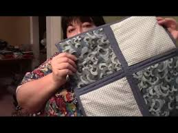 How to Quilt As You Go (QAYG) with Sashing and Self Binding ... & How to Quilt As You Go (QAYG) with Sashing and Self Binding - Sewing  Tutorial - YouTube Adamdwight.com