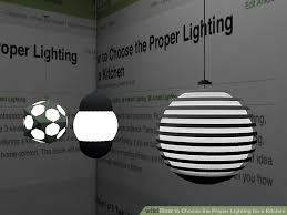 how to choose kitchen lighting. brilliant kitchen image titled choose the proper lighting for a kitchen step 5 and how to h