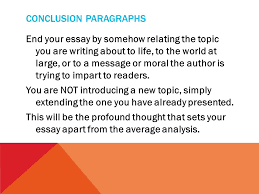 writers workshop macbeth literary analysis essay feedback ppt  12 conclusion paragraphs end your essay