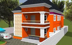 nigeria house plan 3 bedroom flats up