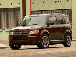 the honda element was cute and rugged