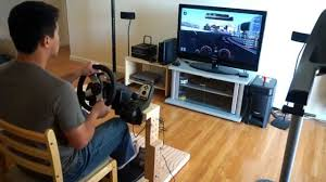 gt6 game play the best homemade logitech g27 wheel stand in the world you