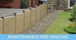 Small Picture UPVC Plastic Fencing panels Plastic garden Fencing Composite
