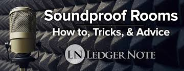 how to soundproof a room for studio