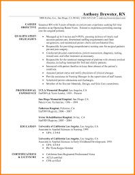 Nurse Resume Cover Letter Nurse Resume Cover Letter Krida 41