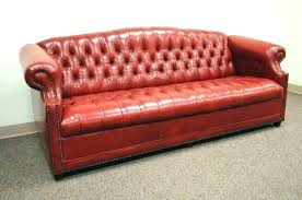 red leather tufted sofa couch org sweet unique for your home bedroom f