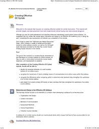 creating a syllabus creating effective br de syllabi manualzz com