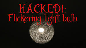 flickering light bulb for you