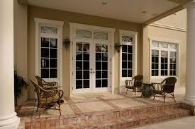 top french doors with transom