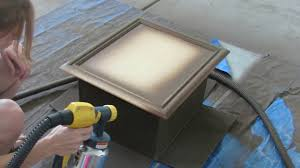 diy cabinet refacing hvlp wagner paint sprayer kitchen makeover how to