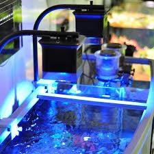 more views aquatic life halo deluxe led aquarium light fixture