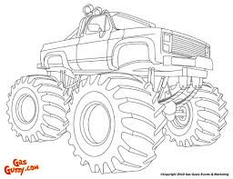 Small Picture Monster Truck Color Page Affordable Free Printable Truck Coloring